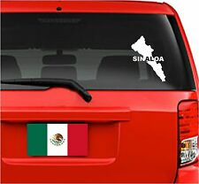 "Car Decals. Wall Decal. Laptop Decal... Mapa Sinaloa, México.  8""H"