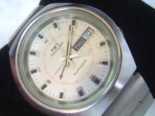 VINTAGE 70'S TECHNOS ALARMDATE AUTOMATIC CAL AS 5008 ORIGINAL CONDITION    *6888