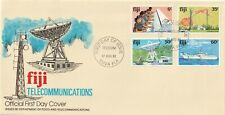 1981 Fiji oversize FDC cover Telecommunications