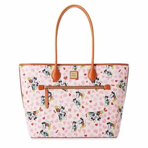 Disney Dooney & Bourke Mickey and Minnie Mouse LOVE Tote BRAND NEW IN PLASTIC