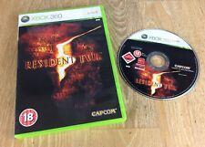 Resident Evil 5 Xbox 360 UK PAL **FREE UK POSTAGE**