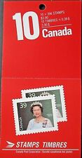 Canada 1990 $3.90 (10 x 39c) QEII FRANCOBOLLI LIBRETTO. Gomma integra, non linguellato.