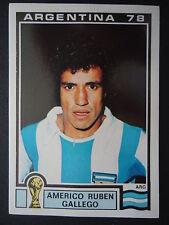 Panini 100 Almerico Ruben Gallego Argentina WM 78 World Cup Story