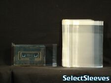 Cassette Case Outer RESEALABLE Sleeve Import Japan Made Archival 50 SelectSleeve