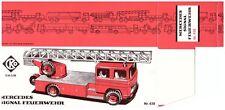 """GSPKW CKO 439 ORIGINAL """"DB FEUERWEHR"""" NUR BOX/ONLY BOX, NEU / NEW / NEUF !"""
