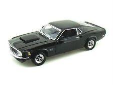 1:18 Motor Max Motormax Black 1970 Ford Mustang Boss 429