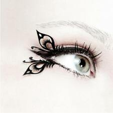 Charm Sexy Black Artistic Butterfly False Eyelashes Makeup For Lady FW