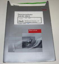 Werkstatthandbuch Audi 80 Typ B4 8C KE Motronic 4 Ventiler Zündanlage Stand 1999