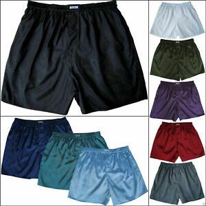 Mens Boxer Shorts Thai Silk 1, 3 or 5 Pairs Underwear Pick Colors Lot M L XL XXL