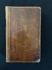 "RARE 1st Edition ""The Antiquities Of Durham Abbey"" Patrick Sanderson Dated 1767"