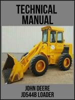 John Deere JD544B Loader Technical Manual TM1094 On USB Drive