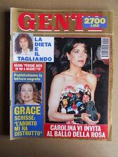 GENTE n°12 1994  Carolina di Monaco Grace Kelly - MARIA CALLAS [D42]