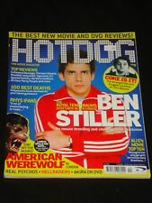 HOTDOG magazine #22, Ben Stiller, John Belushi, Rhys Ifans, Akira, Ali G, RARE