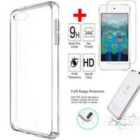 Fr Apple iPod Touch 7th Gen 2019 Real Clear Case TPU Soft Cover+Screen Protector