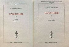 Lorenzo de' Medici - Canzoniere - Olschki - 1991 - a cura di Tiziano Zanato