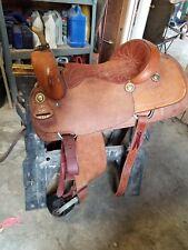16 inch Longhorn Barrel Saddle