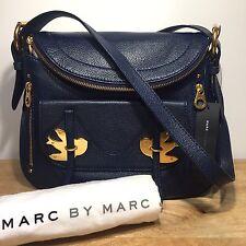 MARC BY MARC JACOBS Petal To The Metal Natasha Bird Crossbody Bag Blue MSRP $458