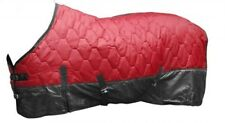 """82"""" RED 420 Denier Quilted Nylon Winter Horse Blanket by Showman!! NEW TACK!!"""