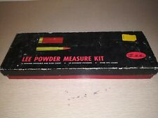 Lee Powder Measure Kit - Used - original packaging - full kit