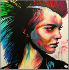 "Graffiti head street art not banksy 150cm x 100cm Massive Canvas  59/"" x39/"""