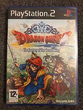 PlayStation 2: Dragon Quest-El periplo del rey maldito (excelente sellado) UK PAL