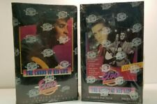 Elvis The Elvis Collection Series 1 & 2 Collectible Trading Card Pack 2 BOX LOT