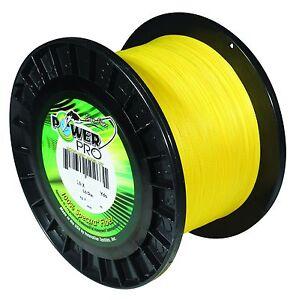 Power Pro Hi-VIS Yellow 30lb 500yds New Genuine! Free shipping