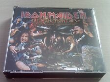 IRON MAIDEN - THE BRITISH FRONTIER - LIVE 4xCD -THE FINAL FRONTIER- *FREE POST*