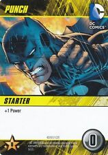 PUNCH DC Comics Deck Building Game card BATMAN