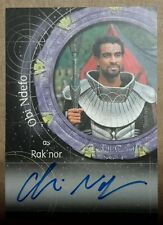 Stargate SG-1 Autograph Card - A35 Obi Ndefo (Rak'nor)