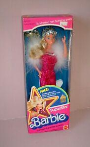 1976 Vintage SuperStar Barbie RARE Variation Gown ~ NRFB