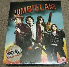 Zombieland Blu-ray Steelbook [MondoCon]  RARE 400 PRINT WITH FULL SLIP