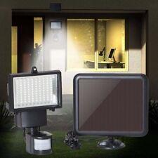 120 LED Luz Solar de Pared Sensor de Movimiento Rango de Detección 180° Exterior