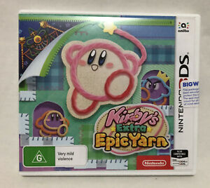 Kirby's Extra Epic Yarn  Standard Edition Nintendo 3DS New Aus Stock