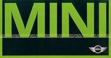 Mini Update Prospekt 2001 sales brochure Auto PKWs Autoprospekt Broschüre Europa