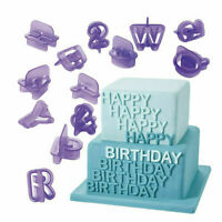 40X Alphabet Letter Number Fondant Cake Biscuit Baking Mould Cookie Cutters R8P8