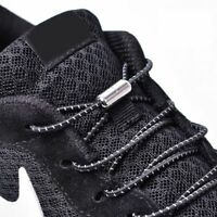 Elastic Locking Shoelaces Round No Tie Shoe Laces Kids Sneakers Quick Lazy Lace