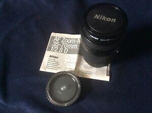Nikon Zoom Wide Angle-Telephoto AF Zoom Nikkor 35-70mm f/2.8D AF Lens