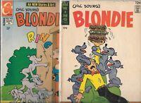 Blondie #170 & #193   Lot of 2 (1967/1971, King/ Charlton Comics)
