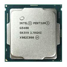 Intel Pentium G5400 Cpu Dual-core 3.70Ghz 4M Sr3X9 54W Lga 1151 Processor