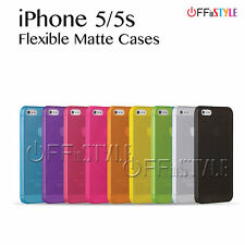 Phone Case for iPhone 5 & 5s Matte PC Protection with screen protector options