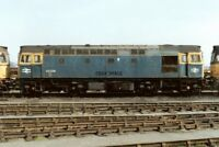PHOTO  CLASS 33 LOCO NO 33023 - 33029 - 33204 AT HITHER GREEN DEPOT 1991