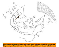 FORD OEM 08-11 Focus Hood-Support Prop Rod 8S4Z16826A