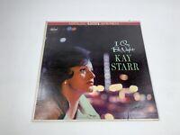 Kay Starr I Cry By Night Vintage Vinyl Record LP ST 1681