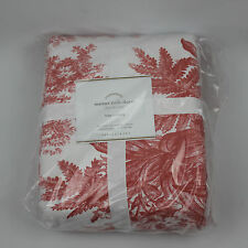 Pottery Barn Matine Toile Duvet Cover Size King / Cal King NEW !