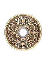 Emtek Brass Lancaster Door Bell Button