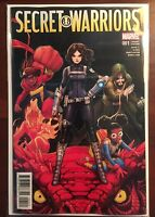 Secret Warriors issue #1 1:25 David Nakayama Variant VF/NM Marvel Now