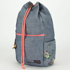 JanSport USA Crossland Premium Cotton Canvas Backpack NEW!