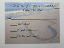 50 RSVP CARDS ONLY ANY DESIGN IN STORE  PERSONALIZED 4 YOU