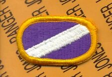 USACAPOC Co A 96th Civil Affairs Bn Airborne para oval patch m/e